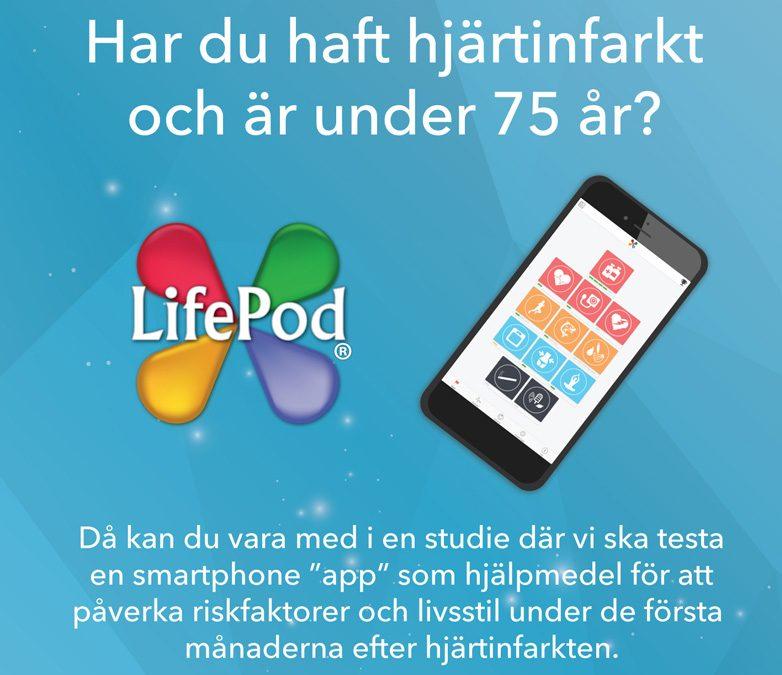 LifePod – platform part of clinical study