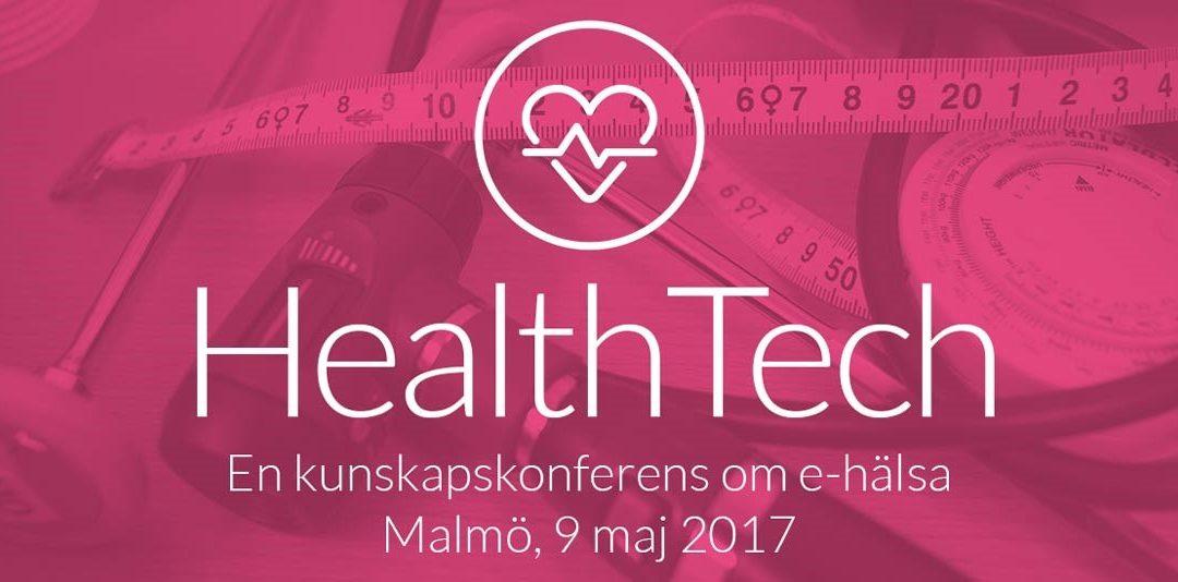 Cross medverkar på HealthTech – en kunskapskonferens om e-hälsa, i Malmö 9 maj!