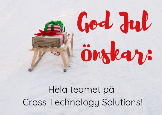 Cross Technology Solutions - healt tech company, wishes merrry christmas.