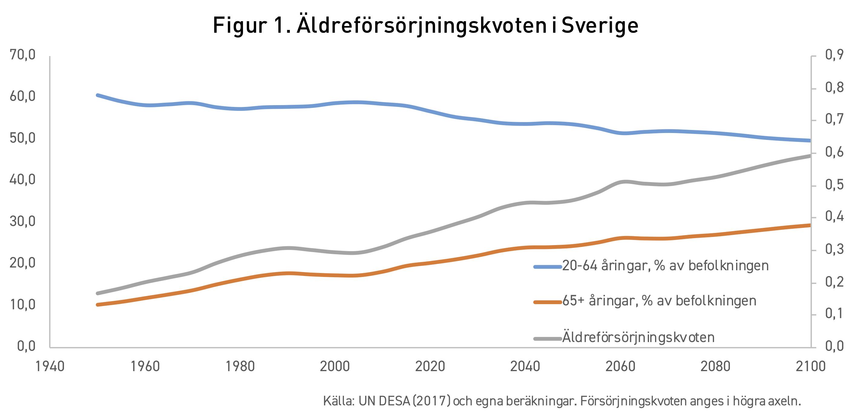 Demografiska utmaningar med en växande åldrande befolkning.