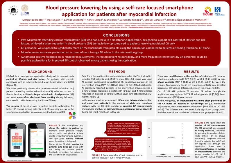 Nya resultat av LifePod-studien presenteras i Paris