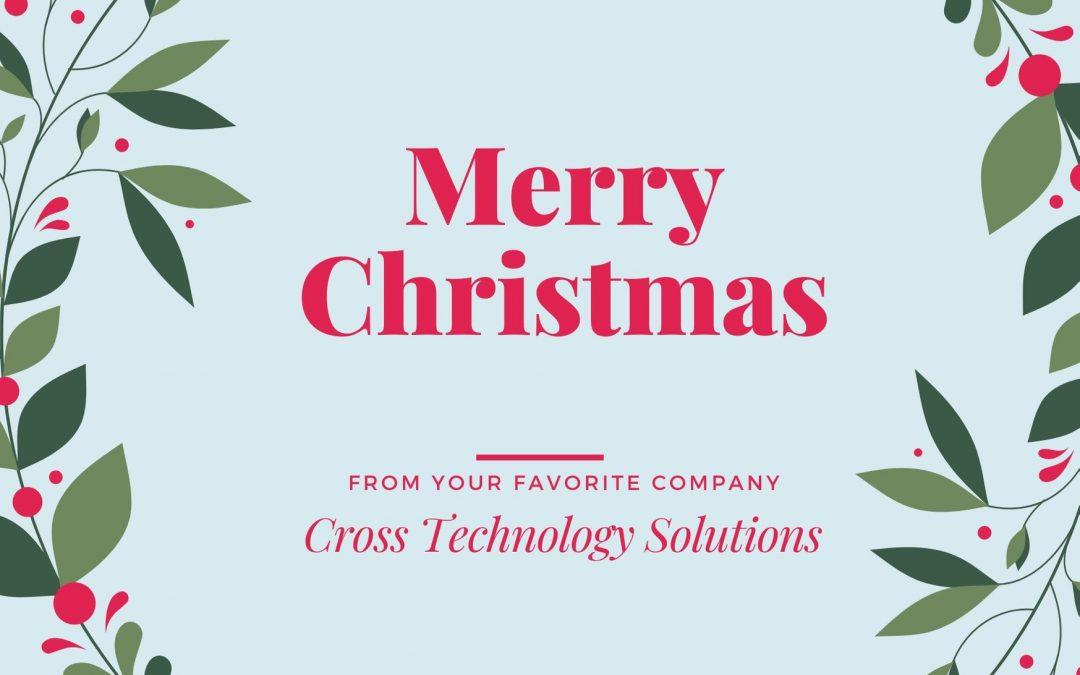 Cross Solutions önskar god jul och ett gott nytt år!