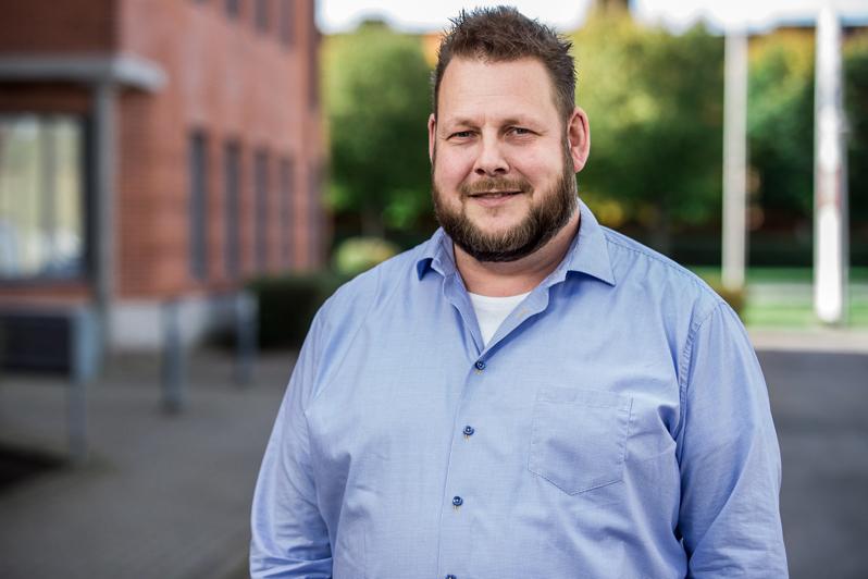 Thomas Bergqwist, vd och grundare av Cross Technology Solutions som just nu upplever en högkonjunktur.