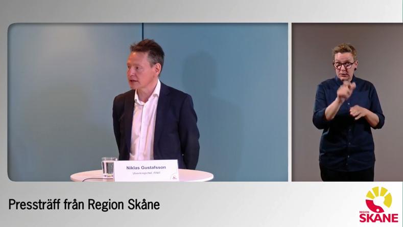Presskonferens Region Skåne 2020-06-17